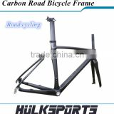 2015 Road disc brake top quality carbon Road bike Frame,full carbon frame, bike carbon weave carbon road frame + carbon fork