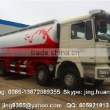Shanqi F3000 big dry bulk cement powder truck 40-45cbm cement tanker on sale