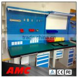 electronics cabinet work bench/work table with drawer