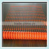 HD-PE orange road safe fence, anti-uv safety road mesh