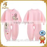 New design wholesale manufacture custom softextile baby romper for newborn baby clothing