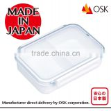 Various types of Japanese bento box with lock for office