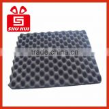 Pyramid sound insulation auditorium acoustic panel, wave pointy white acoustic foam, sound filter studio foam wholesale