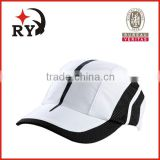 customize 5 panel plain cap Breathable absorbent Quick-drying washable sport baseball hat and cap