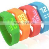 LED watch USB flash drives 8gb clorful LED watch bracelet USB flash drives , multi-fuction LED watch USB flash drives
