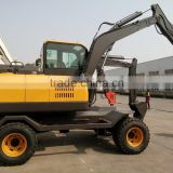Excavator for Sale, Excavator Parts, LG680 Excavator, Walking Wheel Excavator, 8T Wheel Excavator