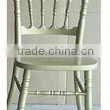 Modern Bamboo Banquet Chair Wedding Dining Chair White Hotel Chair BY-1231
