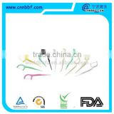 Made in China various styles plastic dental floss pick floss holders