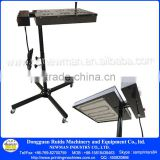 "CE Proved Screen printing 110V /220V flash dryer 18"" *18"" 1800W/2000W curing unit machine inks t-shirt print"