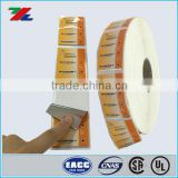 Custom self adhesive label,Waterproof Printed Roll label ; Plastic Roll Label printing for Battery Packing