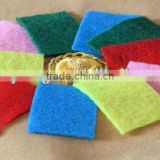 colorful kitchen cleaning sponge scouring pad,sponge scourer