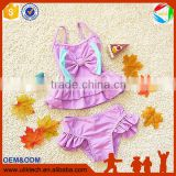 2016 Hot kid swimming suit for beachwear child bikini girl whoelsale kid bathing suit (S017)
