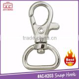 Popular heavy duty lobster claw metal snap hook for 20mm lanyard