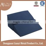Customized size folding home and medical use bed wedge pillow