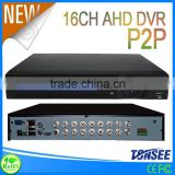 p2p ahd dvr 960p 16CH 720P/8 CH720P+8CH960H /16 CH 960H 16ch ahd dvr with 720p real-time recording for home security
