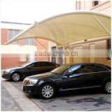 PVC Car Park Roofing Membrane Fabric with PVDF