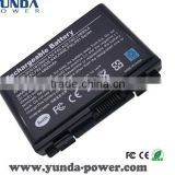 high quality Rechargeable 6 Cells 11.1V 4800mah Laptop Battery for ASUS A32-F82 A32-F52 F82 F52 K50 K40