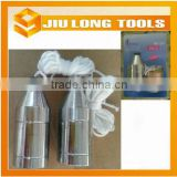 Steel plating plumb bob measuring tool construction tool