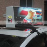 RGB video wireless taxi/car/taxicab led top light display                                                                         Quality Choice