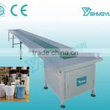 Professional Industrial durable high quality stainless steel nylon belt conveyor table price from factory