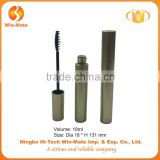 Hot sales cylinderical flat 131*18mm AS wholesale cosmetic mascara container