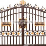 wrought iron villa luxury gate and main courtyard gate models