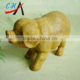 2inch jade stone pigs & old Topiz pigs