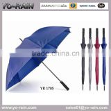 Umbrellas Type and Polyester Material Promotional Straight Walking Stick Golf Rain Umbrella