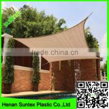 Best selling 150-300g sun shade for Swimming pool Triangle square HDPE waterproof sun shade sail, beach car park