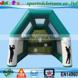 2015 hot inflatable golf ,interactive sports game