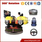 Electric motion ride 360 degree racing car racing 3d degree games 360 degree racing car simulator
