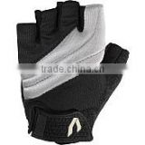 Velcro strap weight lifting gloves