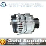"""Brand New alternator for Mercedes Actros 24V 80A WITH 8S PULLEY 124555032 with high quality and low price."""