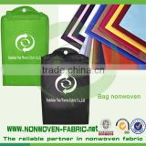 Nonwoven fabric for school bag and shopping bag