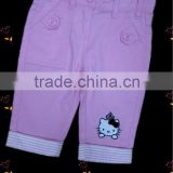 baby clothes baby pants baby garments hight quality nice washing children pink twill trousers denim jeans