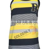 100% Cotton boy's Tank Top