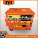 1.8/2KVA silent portable air-cooled diesel generator sets,home use diesel generator KDE2500T