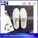 Casual All-match Soft Women's Shoes White Slip-on Canvas Shoes