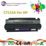 Laser toner cartridge with chip C7115A 15A for HP made in China
