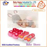 best selling knitted baby shoes and hat