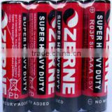 AAA carbon zinc dry cell battery super heavy duty