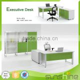 Factory Supply Com Luxury Commercial Furniture Modern Manager Office Table Design Customized Size Office Desk SS20