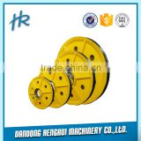 2 years warranty with ISO & OEM&ODM from casting base elevator pulley