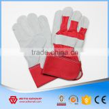 High Quality Half Leather Gloves,Safety Leather Hand Gloves                                                                         Quality Choice
