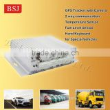 2 way communication Car GPS Tracking Device GPS tracker with vehicle history track diaplay.