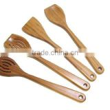 Food Grade Wooden Bamboo Spoons Forks for Kitchen and Table and Cooking and Dining