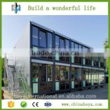 HEYA INT'L low cost 2 story prefabricated sip house built with structure steel pipe