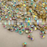 Good quality big stone SS39 crystal AB diamond crystal rhinestone chatons Jewelry pointback crystal chaton rhinestone beads