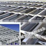Hot Dipped Galvanized Steel Grating flooring and platform steel grating panel, walkway steel grating, walking steel grating