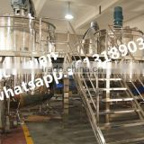 5000L stainless steel steam heating Rotor-stator homogenizer mixing tank,customized Liquid Detergent tank price